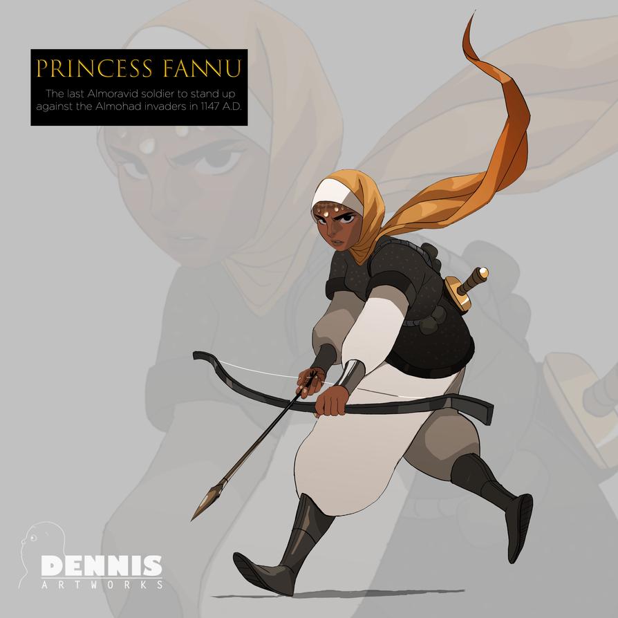 Fannu: The Princess Warrior by David-Dennis