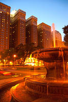 Michigan Street Fountain by BonaFideChimp