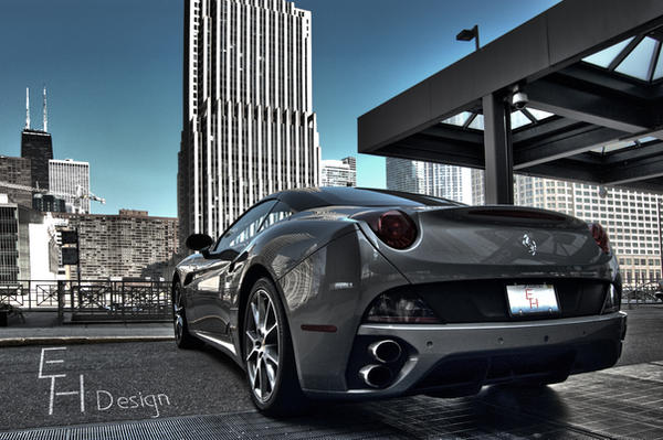 Chicago Ferrari California