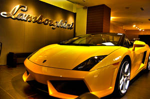 Yellowy Lambo by BonaFideChimp