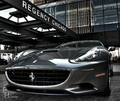 Chicago Ferrari California Angle #2 by BonaFideChimp