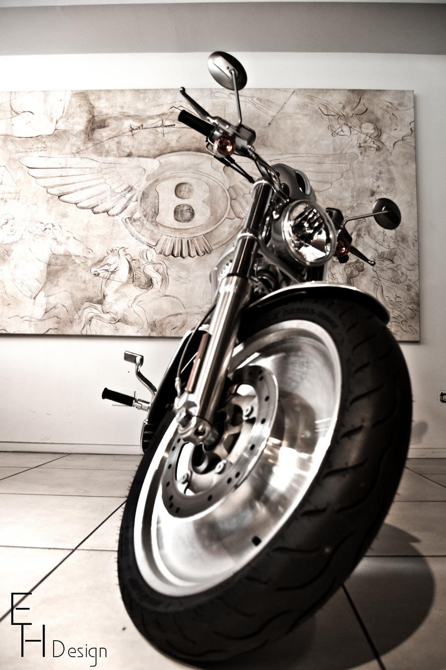 Bentley Harley Mix by BonaFideChimp