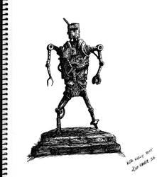 Ned Kelly Bot by kimgauge