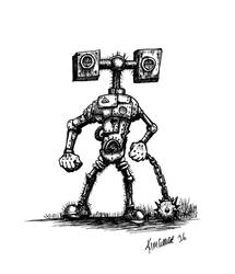 Terror Bot by kimgauge