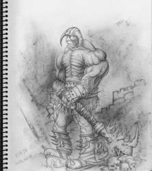 The Devil's Henchman by kimgauge