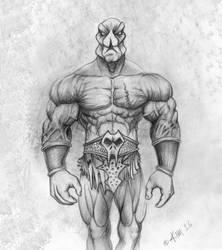 Warrior Concept by kimgauge