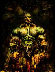 Barbarian Mutant by kimgauge