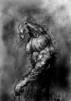 Swamp Monster WIP
