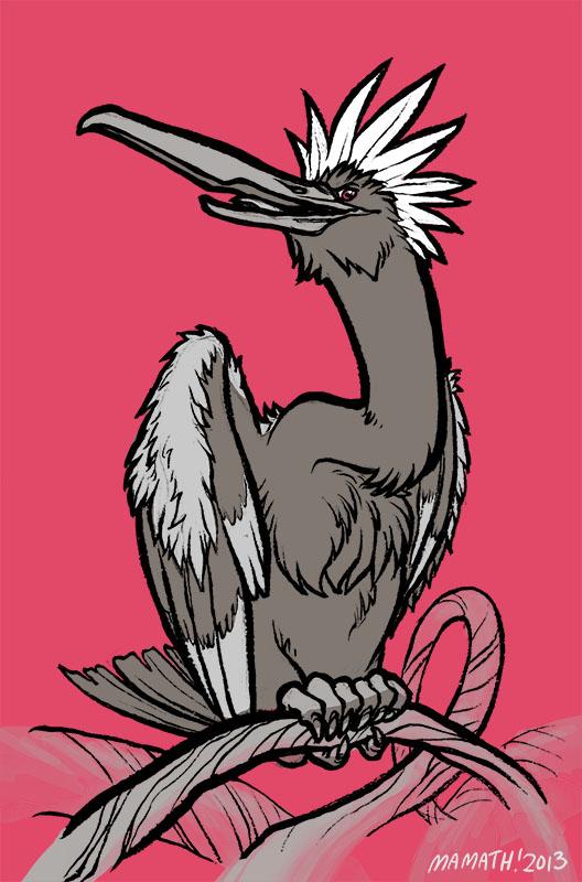 Punk Rock Bird by Mamath