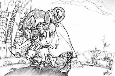 Alyce in Wonderland by Mamath
