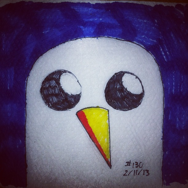 Napkin Art 130 Gunter Adventure Time By Peterparkerpa On