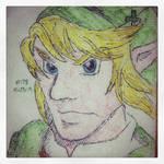 Napkin Art 178 - Courageous Hero - Legend of Zelda by PeterParkerPA