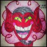Napkin Art 188 - HIM - Powerpuff Girls