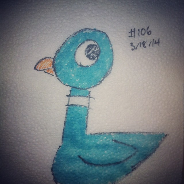 NapkinArt 106 - Don't Let the Pigeon Drive The Bus by PeterParkerPA