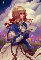 Violet Evergarden by gtneoart