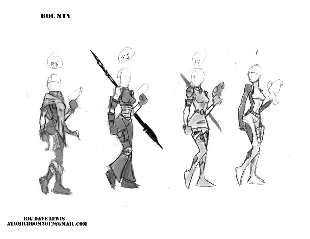 Bounty costume design by BiggDave