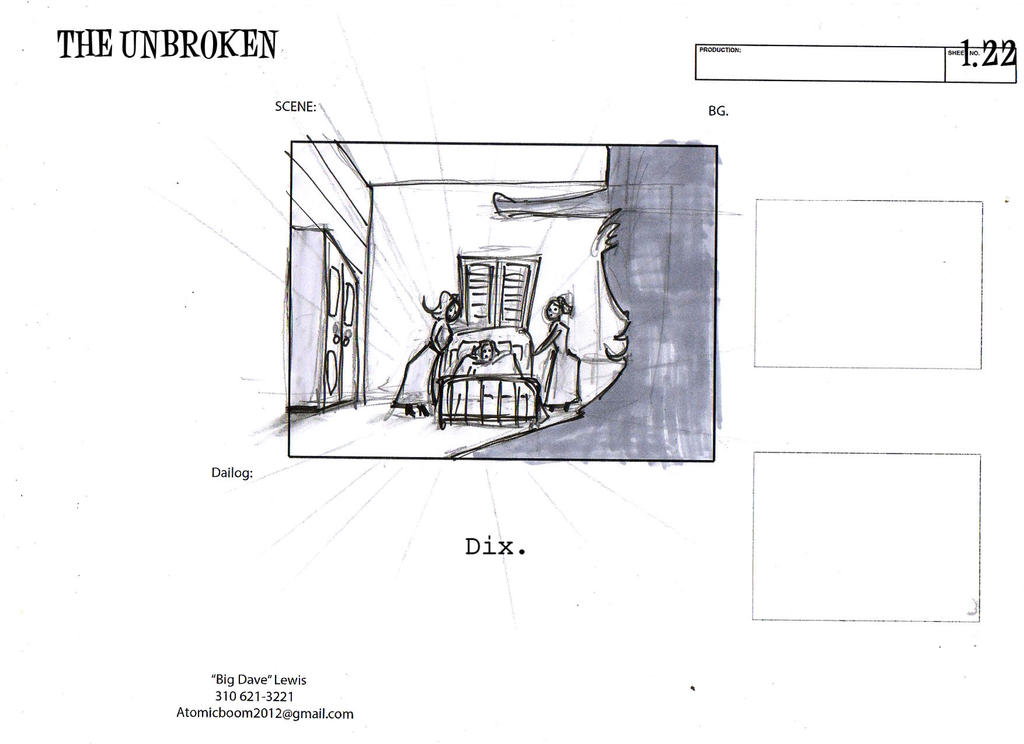THE UNBROKEN storyboards01-19 by BiggDave