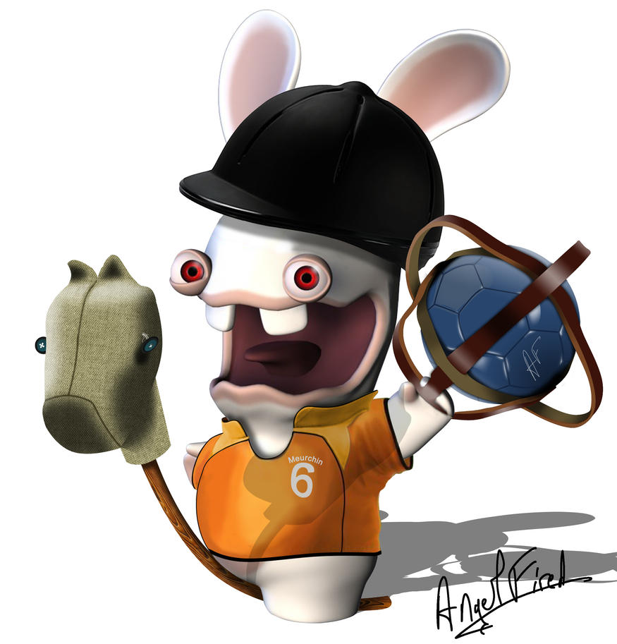 Un lapin cretin au horse ball by angelfired on deviantart - Dessin cretin ...