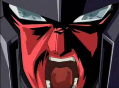 Scream of hero