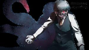 Tokyo Ghoul Render (Ken Kaneki) by Kirikatu