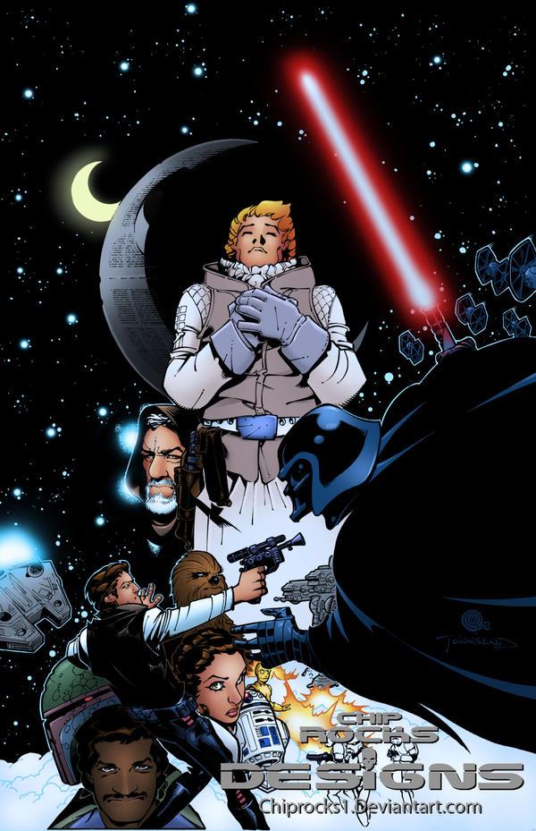 dessins et affiches star wars - Page 16 Star_Wars_Luke_Infinite_by_chiprocks1