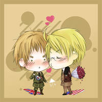 APH:Be my Valentine by semi-shigure