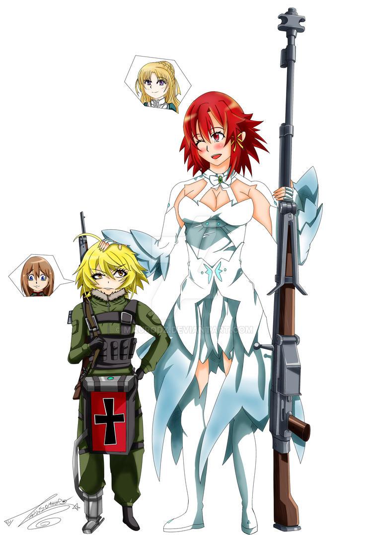 Izetta and Tanya by maurodz