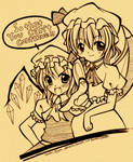 Touhou:Scarlet Sisters