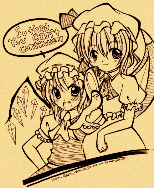 Touhou:Scarlet Sisters by Diwali86
