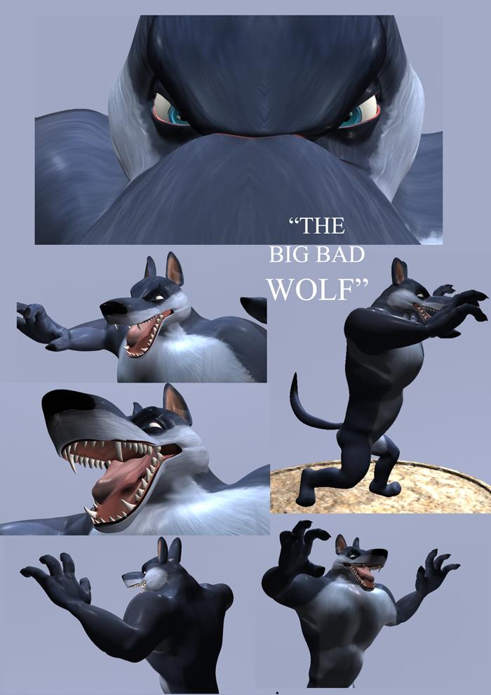 Big Bad Wolf by LucichNorman