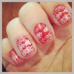 Christmas Day nails