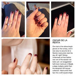 Fall 2013 NYC fashion week trend nails by notannounced