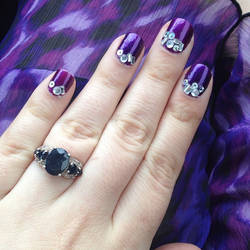 NYC fashion week trends butter london jewel moons by notannounced