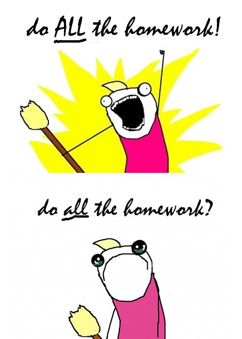 Do all schools have homework