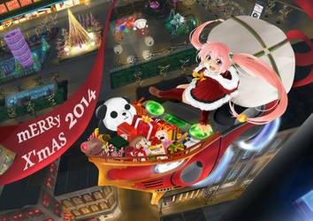 Merry X'mas 2014 by monkeymatrices