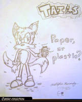 Classic: Tails' bad fur day by Blueburn67