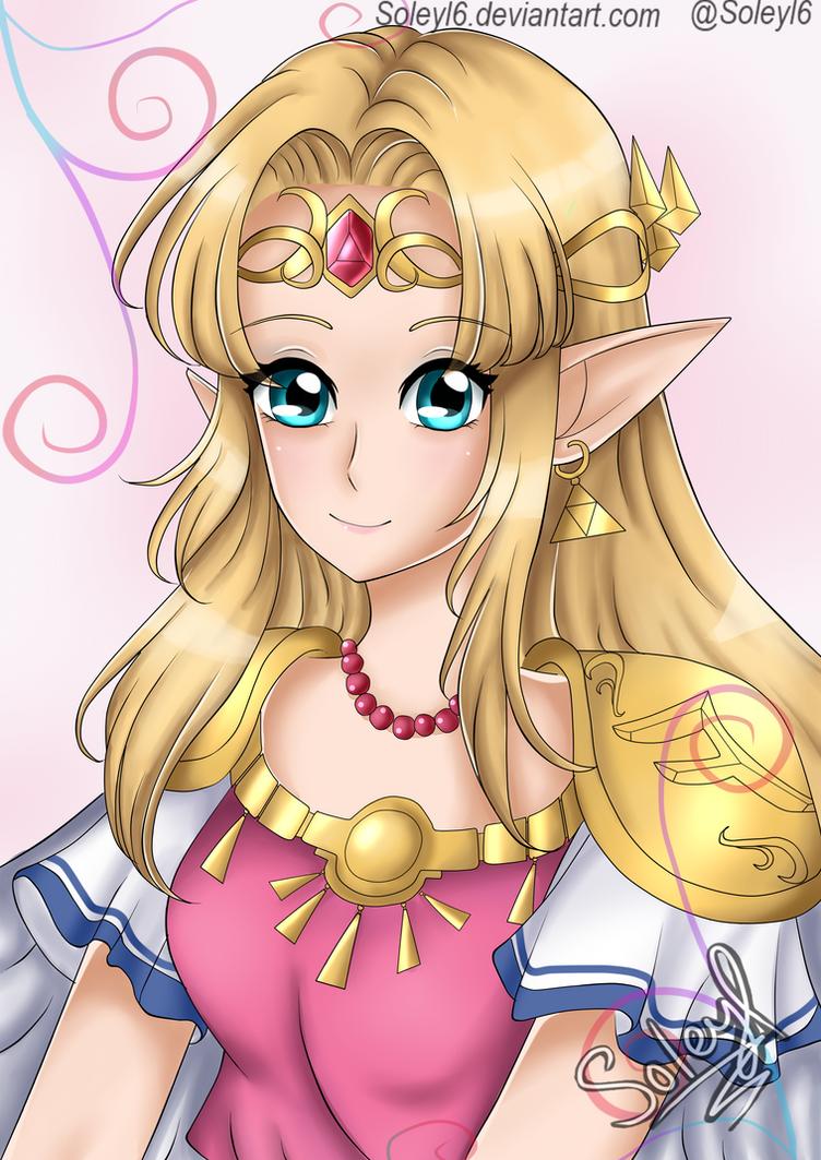 Zelda ALBW by Soleyl6
