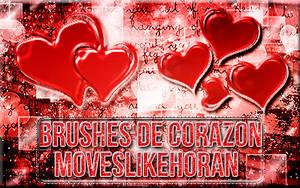 +Brushes de Corazon. by Moveslikehoran
