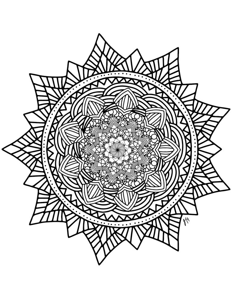 Mandala2.21.17 by EchelonRequiem