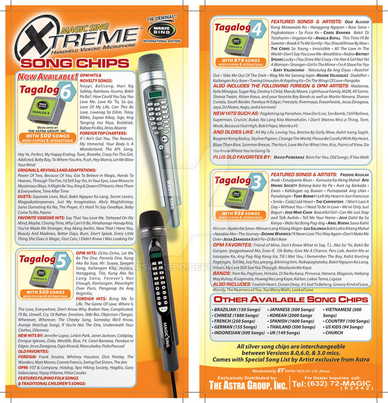 Xtreme Magic Sing Tagalog Song Chips Flyer 02 by racsalcedo on