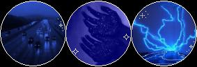 dark blue aesthetic page divider by john-iaurens