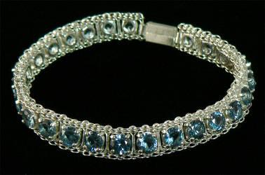 Silver Bracelet Prototype by Ceryk