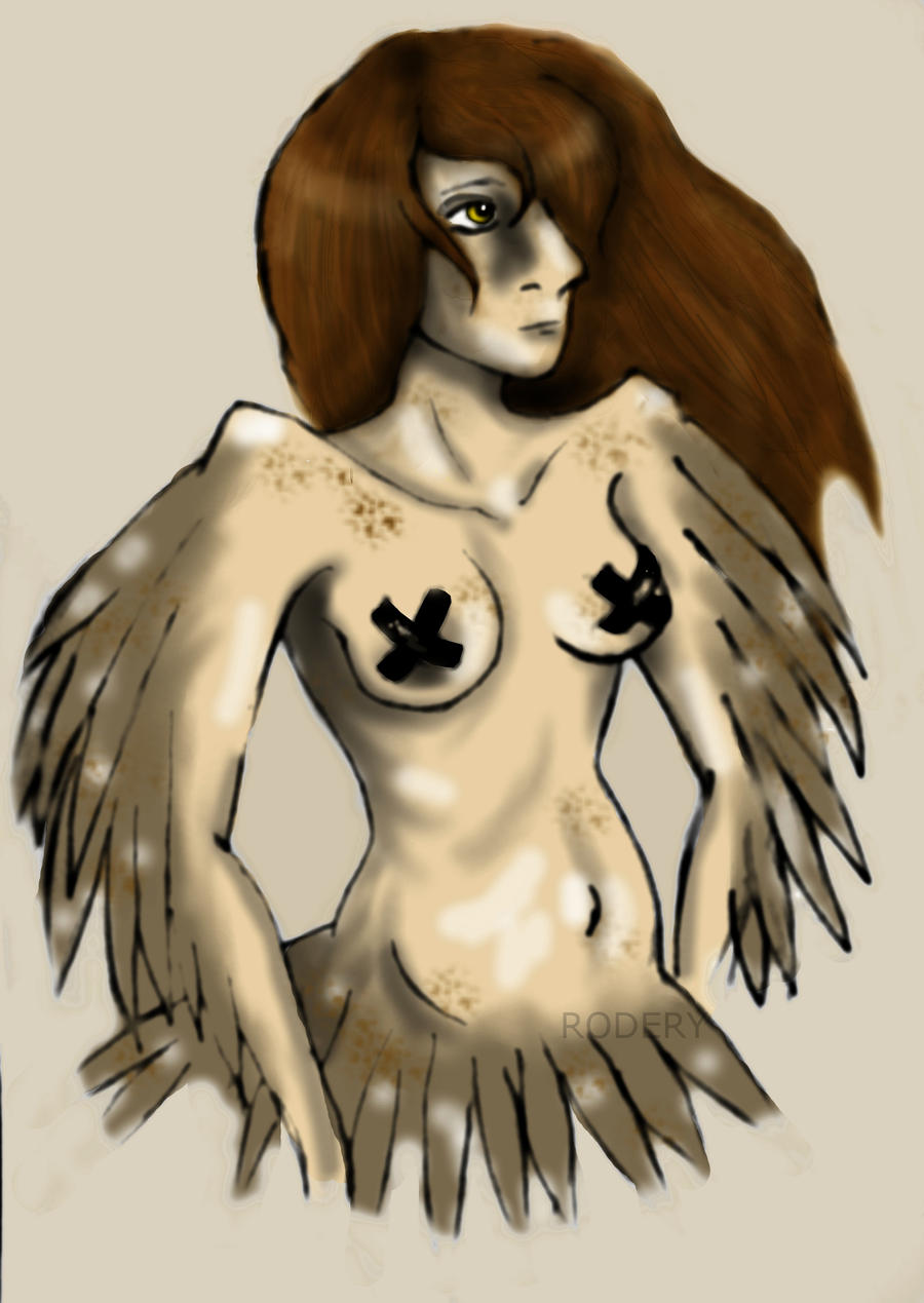 1: Harpy by pink-anthony