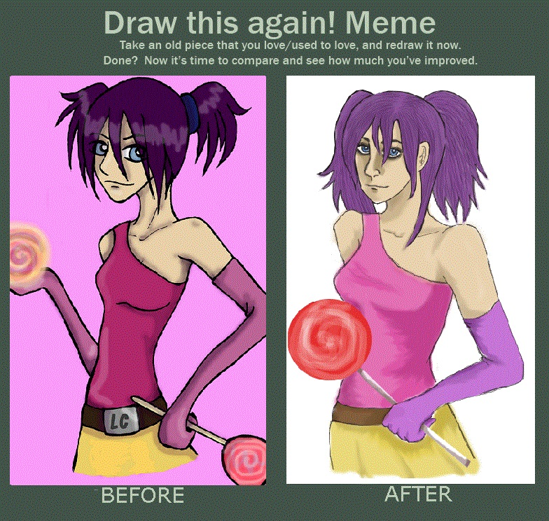 Draw Again Meme by pink-anthony