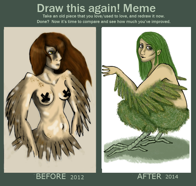 Draw again Meme. Woop. by pink-anthony