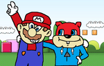 Conker Visits Mario's World