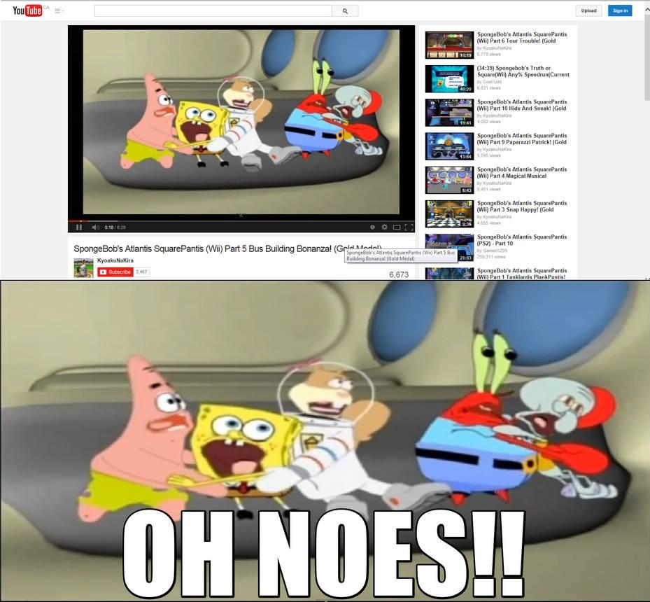 Spongebob meme by theamazingnsixtyfour on deviantart