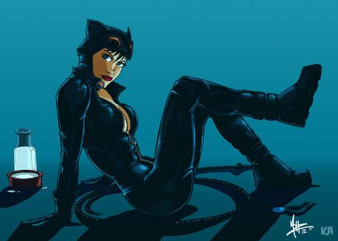 Catwoman by Komic Karl