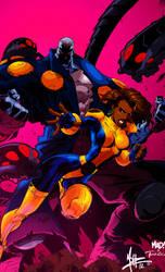 Uncanny X-Men: Maggot and Cecilia Reyes