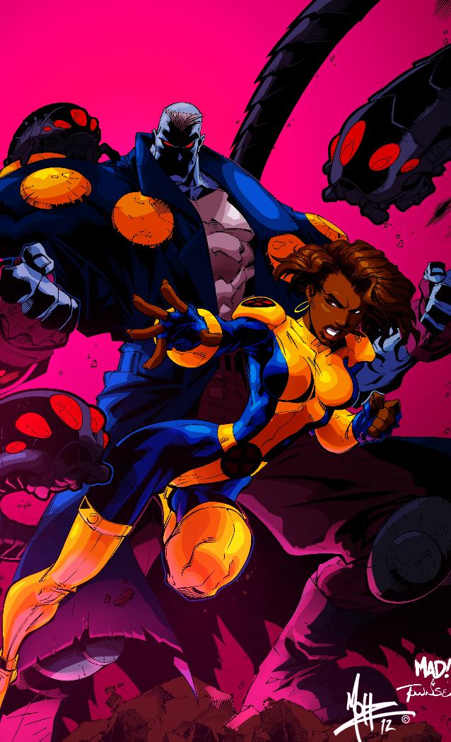 Uncanny X-Men: Maggot and Cecilia Reyes by MoHzleE20